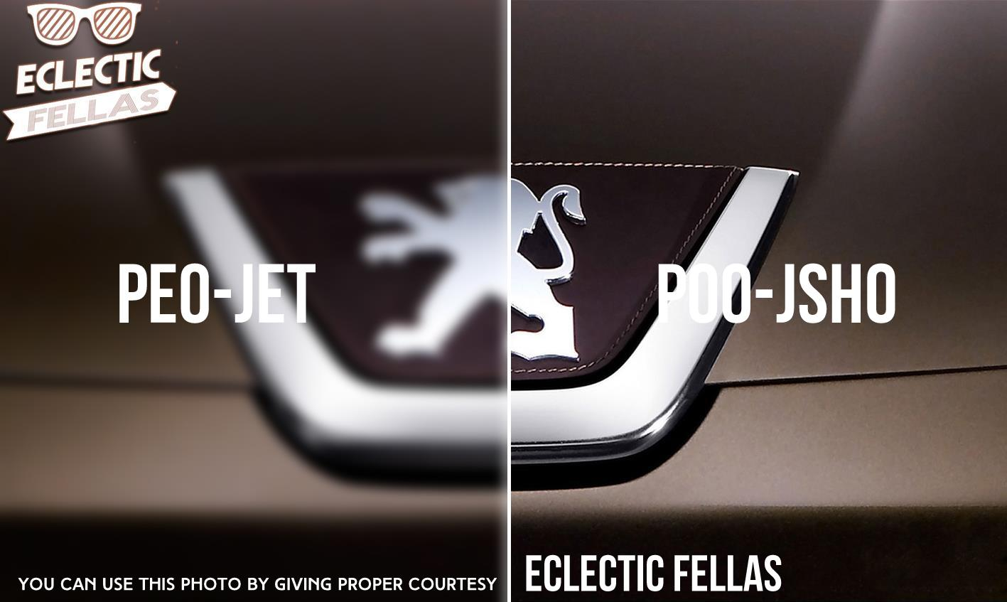 Most Commonly Mis Pronounced Automotive Brands… – eclecticfellas